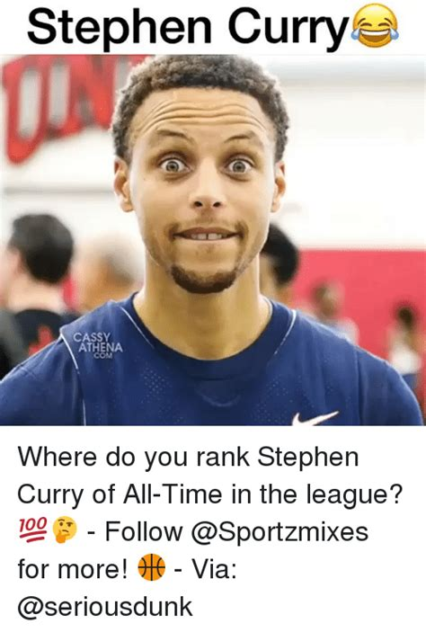 Curry Memes - stephen curry cassy athena com where do you rank stephen