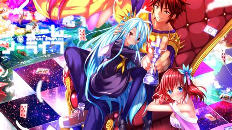 anime wallpaper hd pack download nuevo pack de wallpaper hd de no game no life todo para
