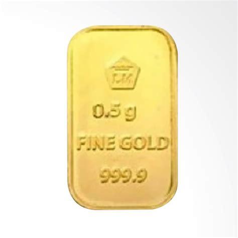 Logam Mulia Emas 24 Karat Antam 50gr jual antam logam mulia emas murni tahun 2017 999 9 24