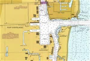 map of port everglades florida port everglades 1999
