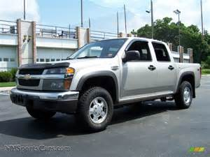 2006 chevrolet colorado lt crew cab 4x4 in silver birch