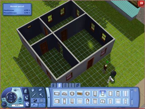 Sim's House   Buying an empty plot   building a house