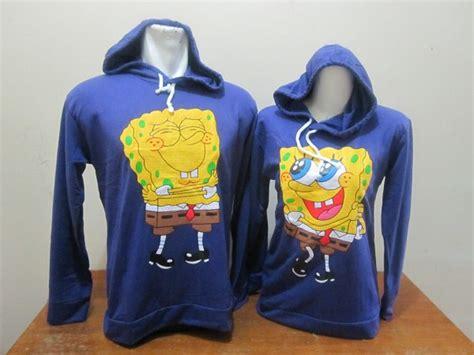Baju Kaos Family Spongebob hoodie spongebob ungu baju aiyushop