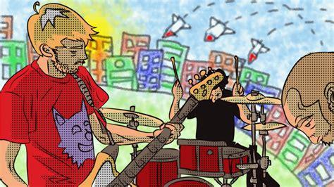 gazebo gruppo musicale comics project