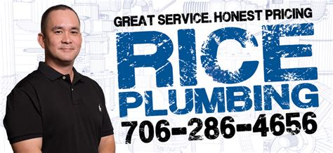 Rice Plumbing   Plumber Athens GA   (706) 286 4656   30606