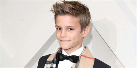 romeo beckham how old what s the height weight and age of romeo beckham