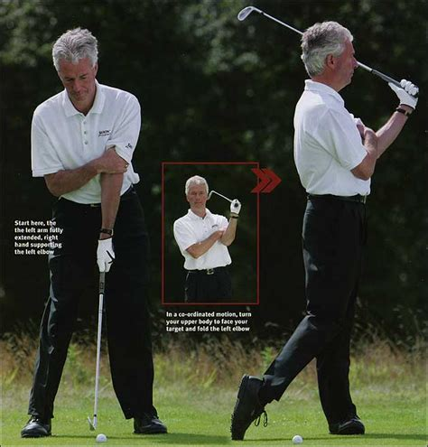 left arm golf swing the secret of golf david blair