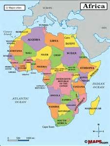 Political Africa Map by Maps101 Login