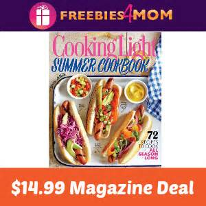 cooking light diet coupon code magazine deal cooking light 14 99