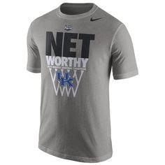T Shirt Nike Kentucky Wildcat Grey spirit wear on kentucky wildcats baseball