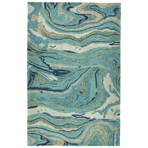Teal Area Rug Home Depot by Kaleen Marble Teal 8 Ft X 11 Ft Area Rug Mbl03 91 811 The Home Depot