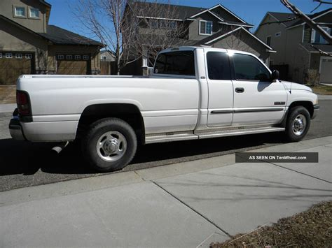dodge ram cummins diesel 2001 dodge ram 2500 cummins turbo diesel
