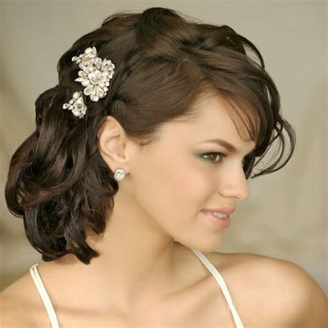 Shoulder Length Hairstyles For Weddings by Medium Length Wedding Hairstyles Wedding Hairstyle