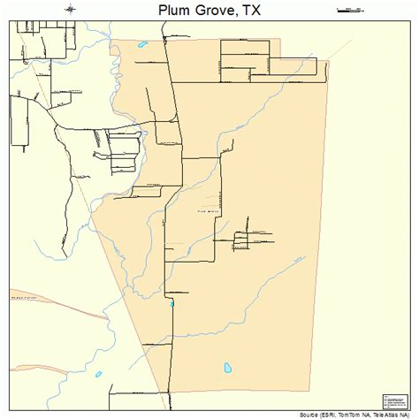 grove texas map plum grove texas map 4858448