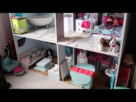 american girl doll house tour videos american girl doll house tour august 2016 youtube