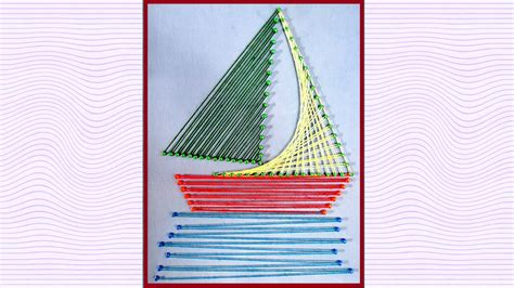 String Directions - string designs string boat by goyal
