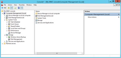 console mmc what is mmc console vista