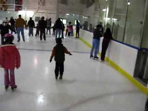 Cabin Skating kaden skating at cabin rink for the time