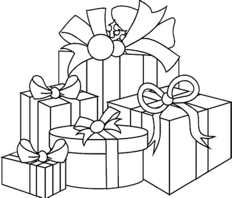 coloring pages of christmas presents printable coloring page for adults gift stoner by