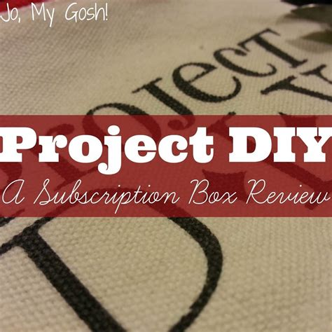 Project Diy Subscription Box