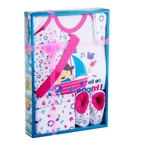 Gift Set Kiddy new baby kiddy gift set all on board new born plus 3