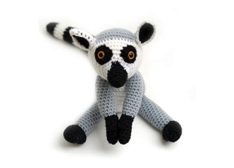 amigurumi ring pattern loki the ring tailed lemur amigurumi pattern