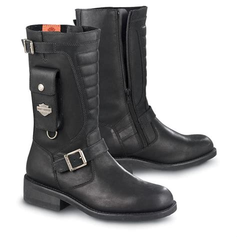 Side Pocket Boots From Asos by S Harley Davidson 174 Side Pocket Engineer Boots Black
