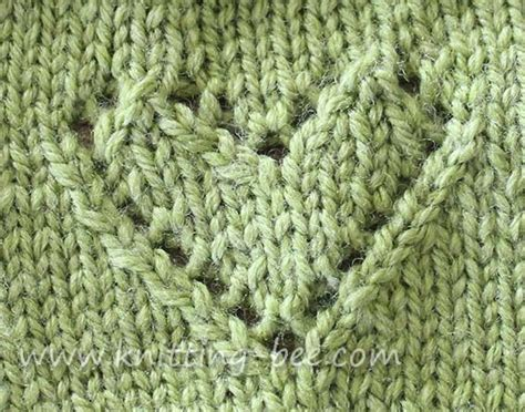 Knitting Pattern With Heart Motif | heart motif knitting pattern bing images