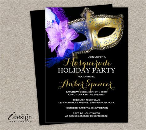 free masquerade invitation templates masquerade invitation template 24 free psd vector eps