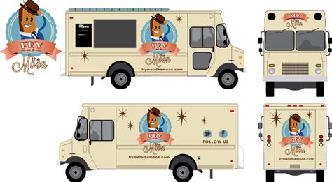 Food Truck Drawing Pictures To Pin On Pinterest Pinsdaddy Food Truck Wrap Design Template