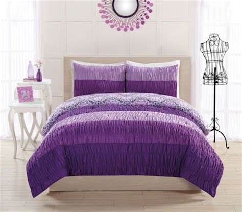 purple comforters for teens 17 best images about teen girl bedding sets on pinterest