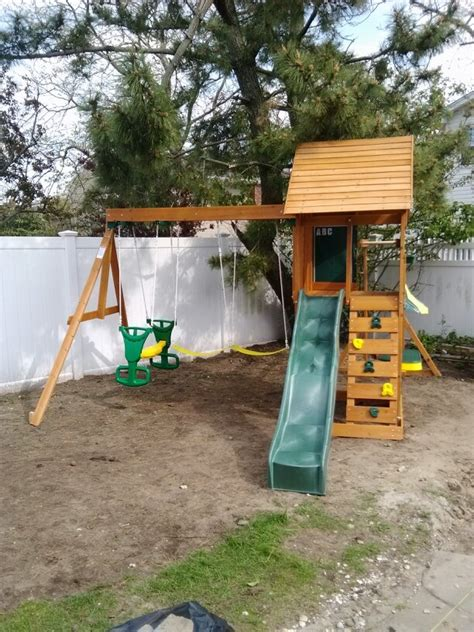 big backyard sandy cove pin by swingset installer on swingset installer pinterest