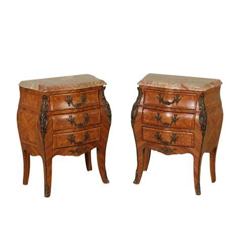 mobili comodini comodini in stile mobili in stile bottega 900