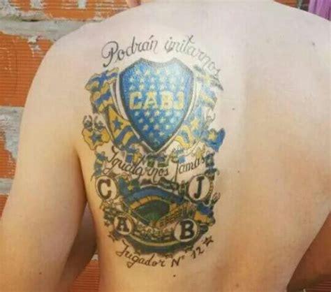 imagenes de tatuajes de boca juniors tatuajes de boca juniors realmente espectaculares