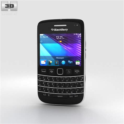 Baterai Blackberry Bold 9790 blackberry bold 9790 3d model hum3d