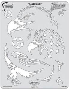 Templates For Airbrushing by Patriotica Eagle One Template Airbrush Help