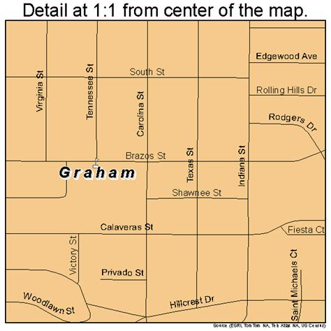 map of graham texas graham texas map 4830392