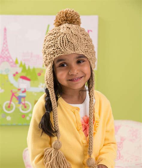 allfree knitting cabled toddler hat knitting pattern allfreeknitting