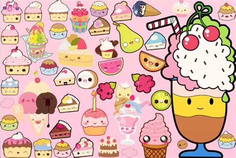 wallpaper cute food cute kawaii food wallpaper wallpapersafari
