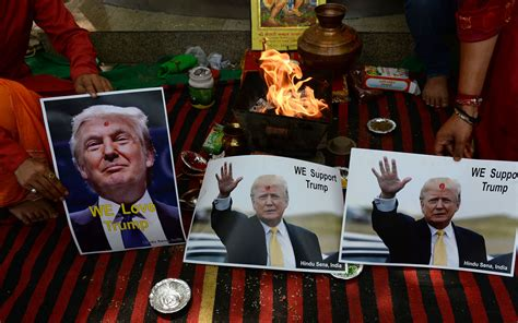 Donald Trump Wins Unlikely Fan Club In India Phemlorg