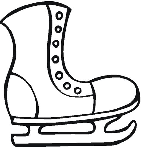 hockey skates coloring pages free coloring pages of skates