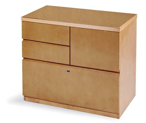 Modern Oak Lateral File Cabinet With 1 Large And Medium Oak Lateral File Cabinet 2 Drawer