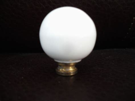 vintage white ceramic porcelain brass knobs cabinet door