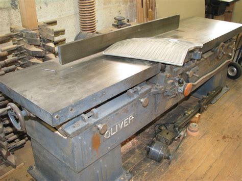 oliver woodworking woodworking oliver 12 cd 24 quot pattern maker s jointer with