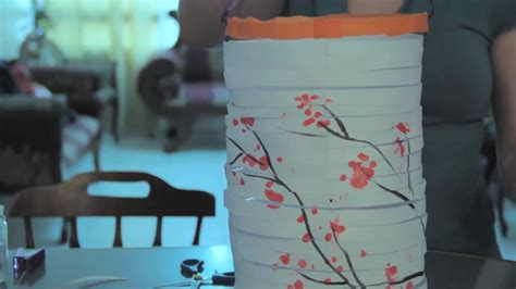 Japanese Paper Lanterns Craft - how to make a japanese paper lantern with pictures wikihow