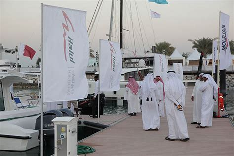 boat upholstery qatar halul boats sells all six boats on display at qibs 2014