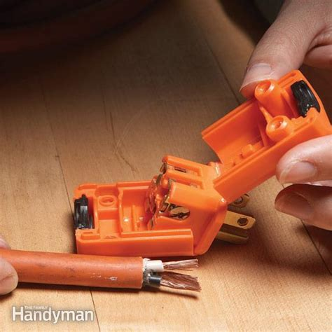 how to use a check cord extension cord repair the family handyman