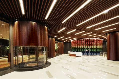 gallery  office lobby  design architects