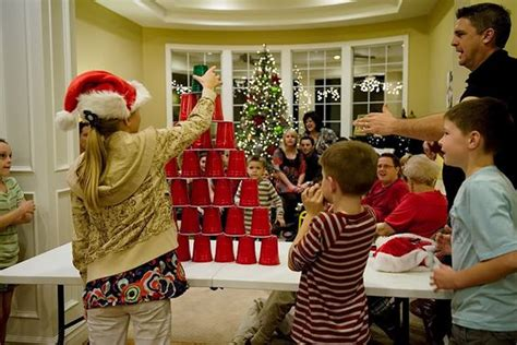 minute to win it style christmas games for a party