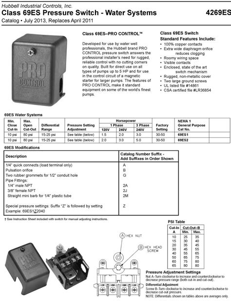 hubbell pressure switch wiring diagram 38 wiring diagram